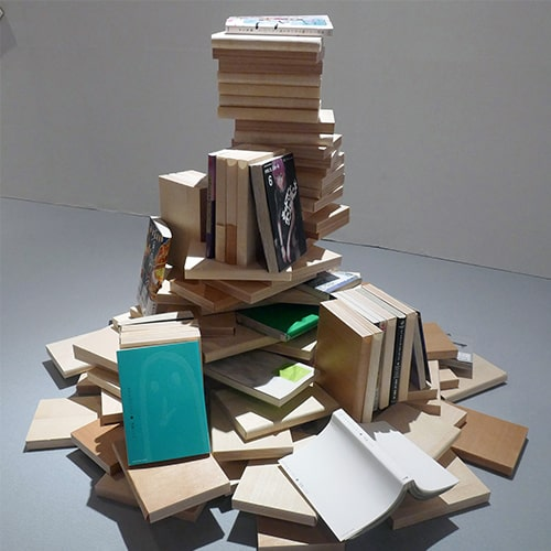 stacking book